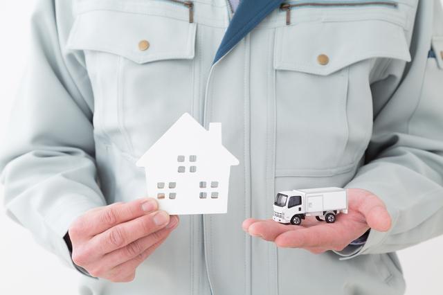 引っ越し業者のイメージ