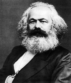 カール・マルクスの肖像写真